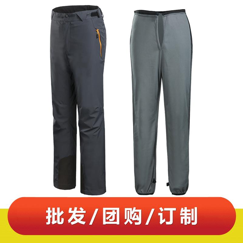WDX31412 男女款可脱卸内胆定做户外服装防水透气登山裤光板现货冲锋裤
