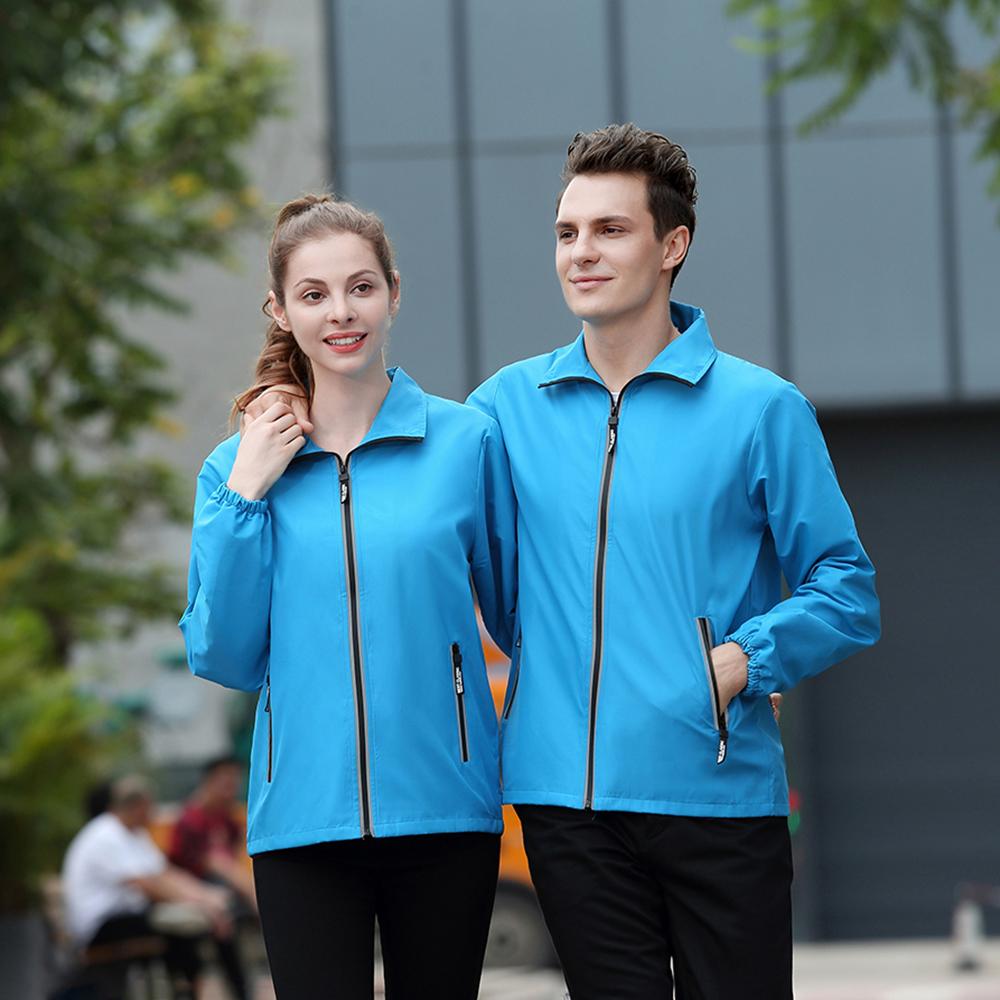 WZC1016菱形格防水反光风衣外套