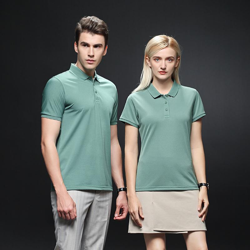 WSD2601冰丝纤维速干POLO衫定制男装有领T恤衫翻领