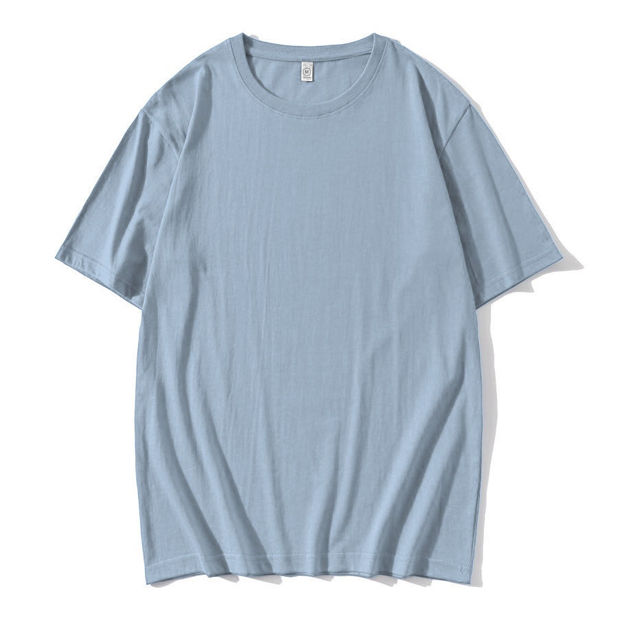 WZC18322 200克精梳純棉潮牌落肩POLO衫